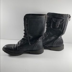 50% Off Roxy Combat Boots Size 7.5
